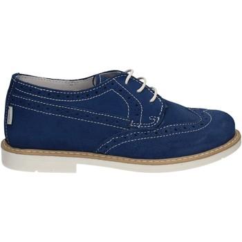 Čevlji  Dečki Čevlji Derby Melania ME2045D7E.G Modra