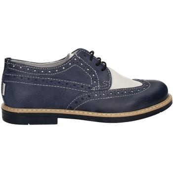 Čevlji  Dečki Čevlji Derby Melania ME6045F7E.I Modra