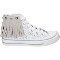 Čevlji  Deklice Visoke superge Lulu LV010074T Biely