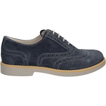 Čevlji  Dečki Čevlji Derby NeroGiardini P734100M Modra