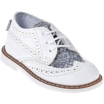 Čevlji  Otroci Čevlji Derby Melania ME1058B7E.B Biely