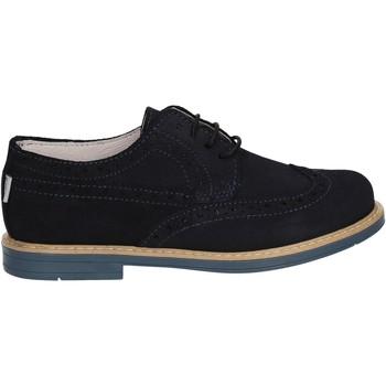Čevlji  Dečki Čevlji Derby Melania ME6045F7E.E Modra