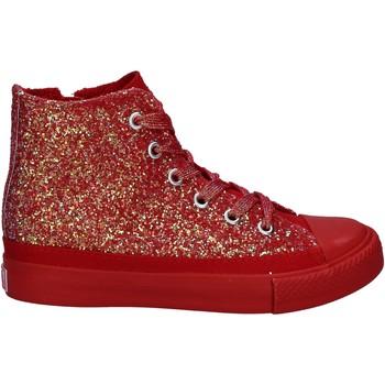 Čevlji  Deklice Visoke superge Lulu LV010077S Rdeča