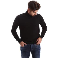 Oblačila Moški Puloverji Gas 561820 Črna