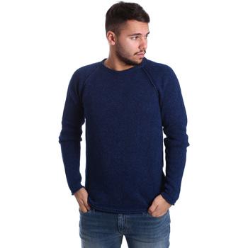 Oblačila Moški Puloverji Gas 561872 Modra