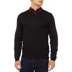 Oblačila Moški Puloverji Gas 561882 Črna