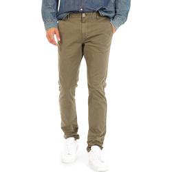 Oblačila Moški Hlače Chino / Carrot Gas 360702 Zelena