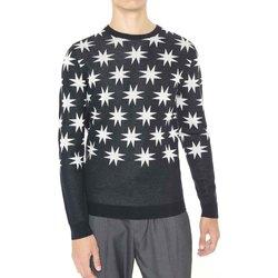 Oblačila Moški Puloverji Antony Morato MMSW00742 YA400006 Črna