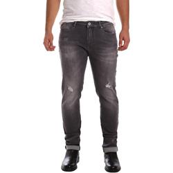 Oblačila Moški Kavbojke slim Gaudi 721FU26001 Črna