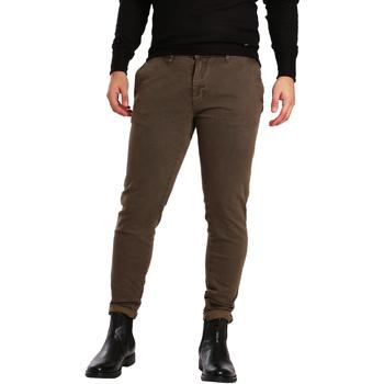 Oblačila Moški Hlače Chino / Carrot Gaudi 721BU25007 Rjav