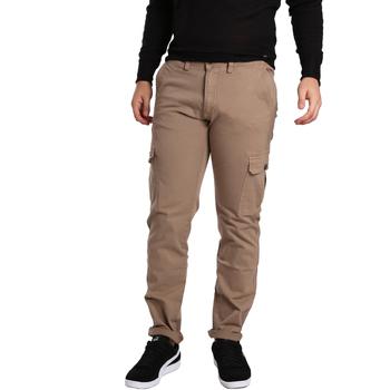 Oblačila Moški Hlače cargo Gaudi 721BU25019 Bež