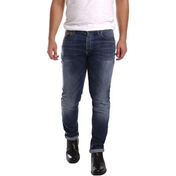 Oblačila Moški Kavbojke slim 3D P3D1 2659 Modra