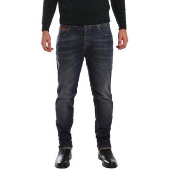 Oblačila Moški Kavbojke slim 3D P3D1 2667 Modra