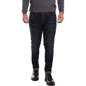 Oblačila Moški Kavbojke slim 3D P3D6 2659 Modra