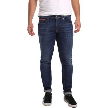 Oblačila Moški Kavbojke slim 3D P3D6 2667 Modra