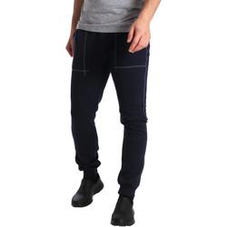 Oblačila Moški Spodnji deli trenirke  Key Up SF19 0001 Modra