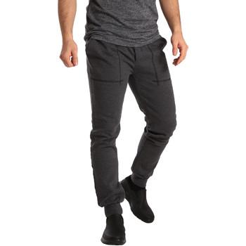 Oblačila Moški Spodnji deli trenirke  Key Up SF19 0001 Siva