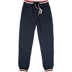 Oblačila Moški Spodnji deli trenirke  Key Up SF24 0001 Modra