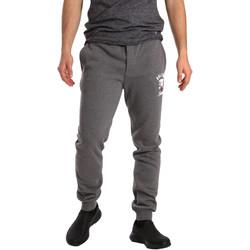 Oblačila Moški Spodnji deli trenirke  Key Up GF16 0001 Siva