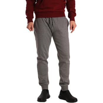 Oblačila Moški Spodnji deli trenirke  Key Up GV77 0001 Siva