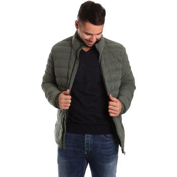 Oblačila Moški Puhovke Ea7 Emporio Armani 6YPB23 PNB7Z Zelena