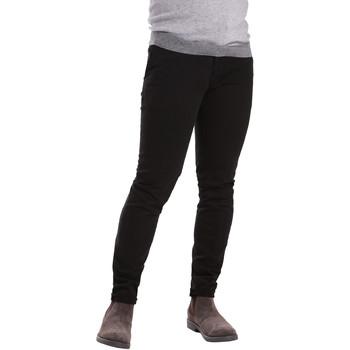 Oblačila Moški Hlače Chino / Carrot Sei3sei PZV21 7275 Črna