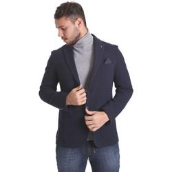 Oblačila Moški Jakne & Blazerji Sei3sei PZG9 7291 Modra