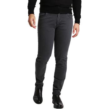 Oblačila Moški Hlače s 5 žepi Sei3sei PZV16 7239 Siva