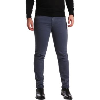 Oblačila Moški Hlače s 5 žepi Sei3sei PZV16 7239 Modra