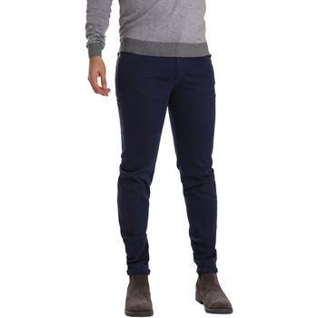 Oblačila Moški Hlače s 5 žepi Sei3sei PZV17 7257 Modra