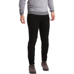 Oblačila Moški Hlače s 5 žepi Sei3sei PZV17 7257 Črna