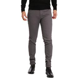 Oblačila Moški Hlače s 5 žepi Sei3sei PZV17 7257 Siva