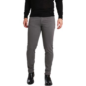 Oblačila Moški Hlače s 5 žepi Sei3sei PZV17 7226 Siva