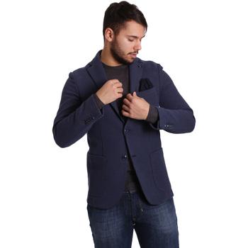 Oblačila Moški Jakne & Blazerji Sei3sei PZG9 7290 Modra