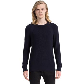 Oblačila Moški Puloverji Calvin Klein Jeans J30J305473 Modra
