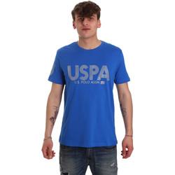 Oblačila Moški Majice s kratkimi rokavi U.S Polo Assn. 57197 49351 Modra