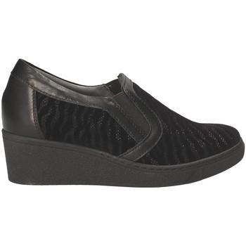 Čevlji  Ženske Mokasini Grunland SC3525 Črna