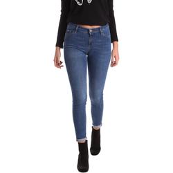 Oblačila Ženske Jeans skinny Gas 355652 Modra