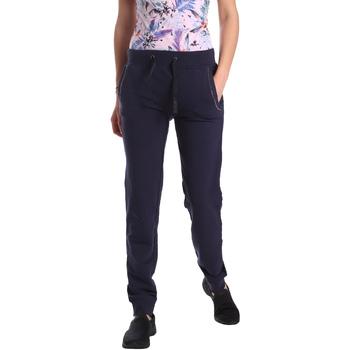 Oblačila Ženske Spodnji deli trenirke  Key Up GE42 0001 Modra