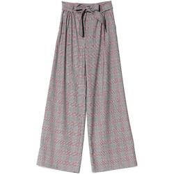 Oblačila Ženske Lahkotne hlače & Harem hlače Denny Rose 721DD20029 Črna