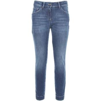 Oblačila Ženske Kavbojke slim NeroGiardini A760110D Modra