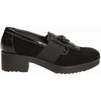 Čevlji  Ženske Mokasini Susimoda 875084 Črna