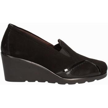 Čevlji  Ženske Mokasini Susimoda 872877 Črna
