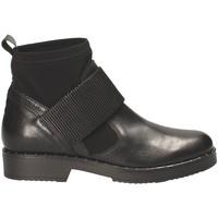 Čevlji  Ženske Gležnjarji Mally 5887D Črna