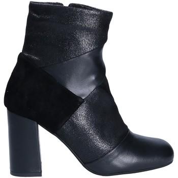 Čevlji  Ženske Gležnjarji Keys 7173 Črna