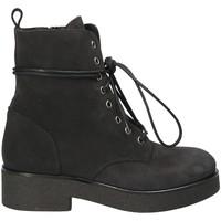 Čevlji  Ženske Gležnjarji Mally 4235 Črna