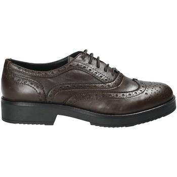 Čevlji  Ženske Čevlji Derby Mally 4704S Rjav