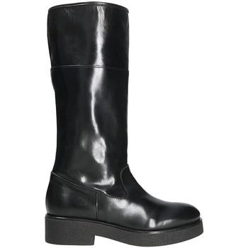 Čevlji  Ženske Mestni škornji    Mally 5096Z Črna