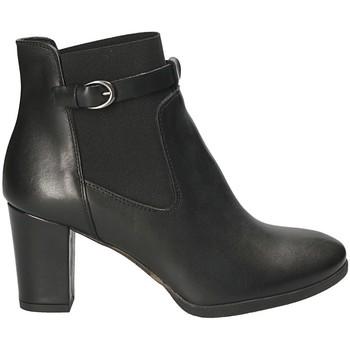 Čevlji  Ženske Gležnjarji Mally 5114 Črna