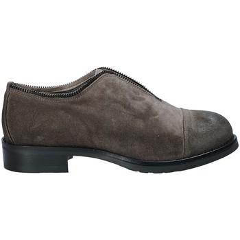 Čevlji  Ženske Čevlji Derby Mally 5523 Siva